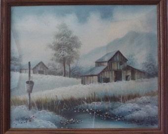 T. Travis original Acrylic Painting
