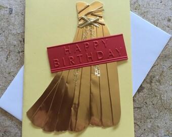 Handmade Ball gown Birthday card