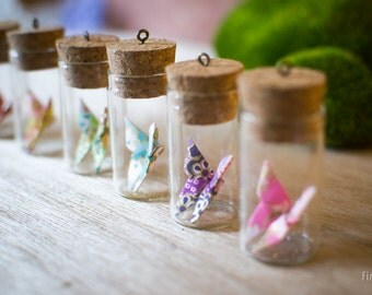 Mini Bottle - Butterfly