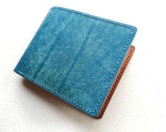 mens wallet, leather wallet, billfold wallet