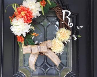 Spring Escapes Wreath