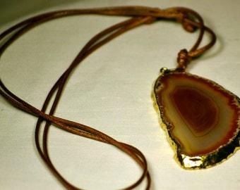 Geode Necklace