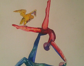 Watercolour body agreement number 4
