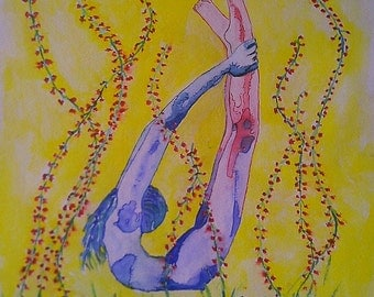 Watercolour body agreement number 7