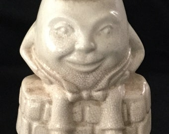 Antique U S A Pottery Humpty Dumpty Planter