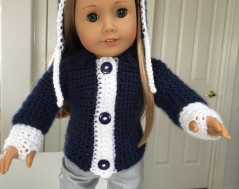 American Girl Doll Sweater Set