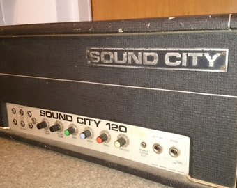 Sound City L120 mark 4 amphead