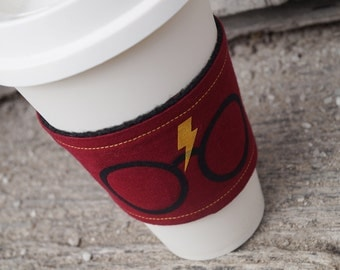 Reusable Coffee Cup Cozy ~* Harry Potter Inspired*~