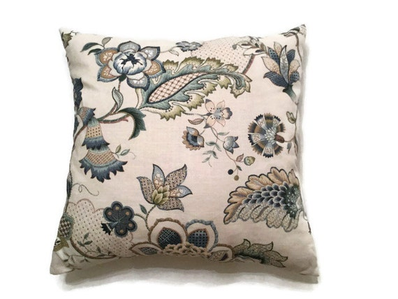 Throw Pillows Lowes : Designer Decorative Pillow-Blue Throw Pillow-Luxury