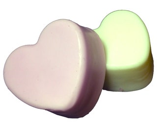 Heart Shaped Soap | Handmade Soap | Shea Butter Soap