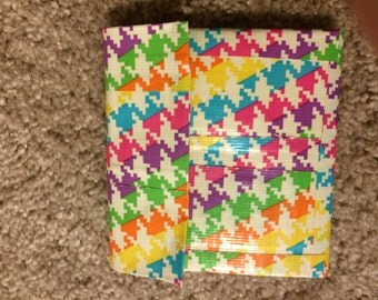 Duct Tape accordion wallet