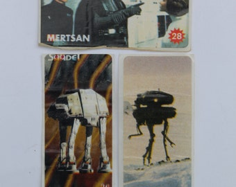 Vintage Sticker star wars stickers