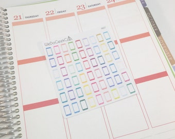 M007/ Mini Cell Phones Planner Stickers