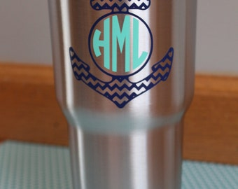 30 oz. RTIC Anchor Monogramed Cup