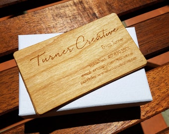 Business Cards /Wood Business Cards /Laser Engraved Wood Business Cards /Personalized Wood Business Cards /Unique Wood Cards