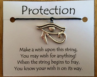 "Protection ""Eye of Horus"" Wish Bracelets"