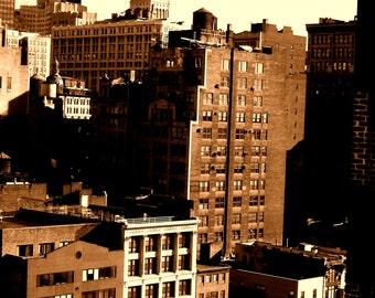 NYC Sepia