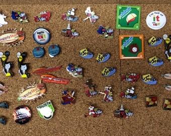 44 Advertising Pins Pin Jewelry eBay BidPay Wholesale Truste Uship Marketing Metal Art Project Collage