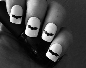 Batman Symbol Nail Decals!