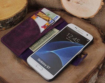 Samsung Galaxy S7 Case, Samsung Galaxy S7 Case Leather, Samsung Galaxy S7 Phone Case, Samsung Galaxy S7 Leather Wallet, Gift