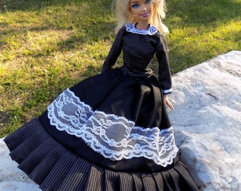 Countess von Lace - dress for Barbie doll