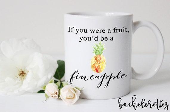 Cute pineapple mug
