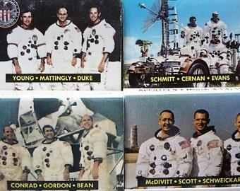 Apollo -- U.S. Space Program Astronaut Commemorative Series  -- Souvenir Matchbook , Matchbooks