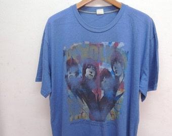 25% SALES ALERT Vintage 90's The Beatles Revolver Classic Rock N Roll Band T Shirt Oversize T Shirt Size 4L