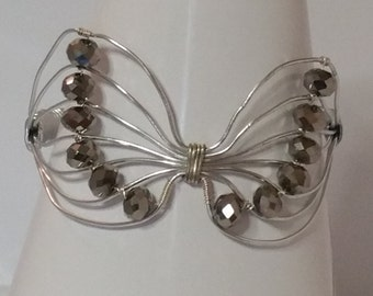 Large Butterfly Bracelet