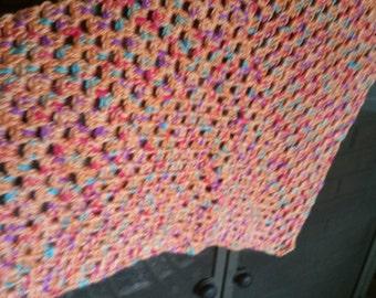 Orange Sherbet Soft Baby Blanket - 62016 003