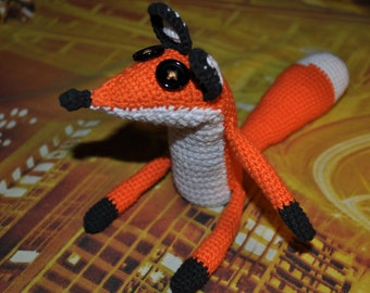 Fox, Crochet fox, little fox