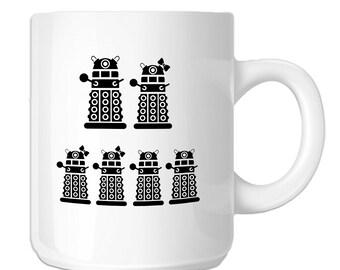 Dalek Robot Exterminate Family (SP-00571) 11 OZ Novelty Coffee Mug