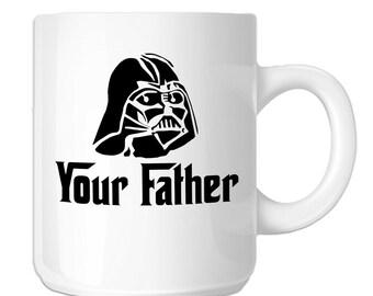 Funny Darth Vader Parody Your Father (SP-00863) 11 OZ Novelty Coffee Mug