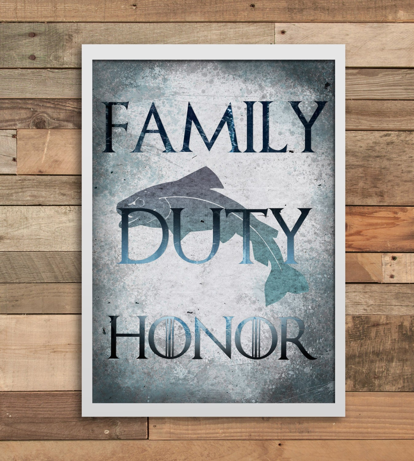 Game of Thrones party wall art print home decor minimalist