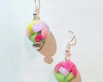 Quirky Pill Earrings