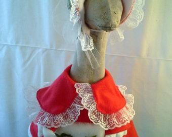 Mrs. Santa for Large Goose
