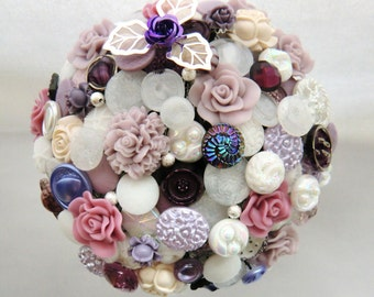 "Bridal bouquet from buttons ""N"""