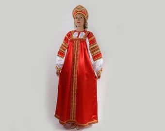 Traditional russian dress Vasilisa
