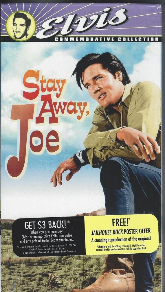 Elvis Presley Stay away Joe full movie VHS Sealed