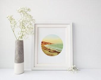 Ocean, Laguna, California, Beach Art, California Art, Palms, Laguna Beach Photography, Wall Art, Printable Art, Wall Print, Instant Download