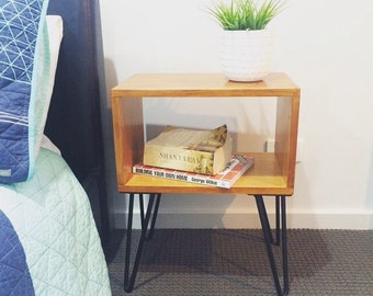 Bedside table night stand. Retro/scandy