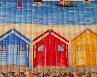 "PLACEMATS  ""seaside bungalows"" set of 4"