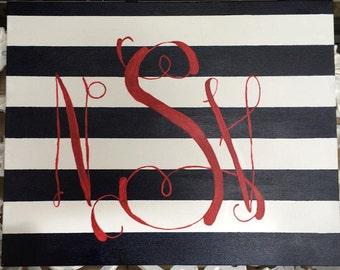 Custom Monogram Wall Art