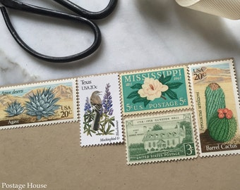 Desert Sky | Vintage Stamps | Unused Postage Stamps | For 5 Letters | 68 Cents