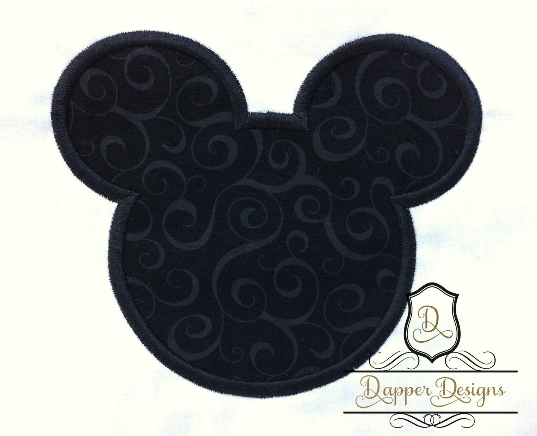 Boy mouse machine embroidery applique design use coupon code