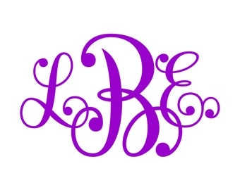 Monogram SVG  Font  No. 20