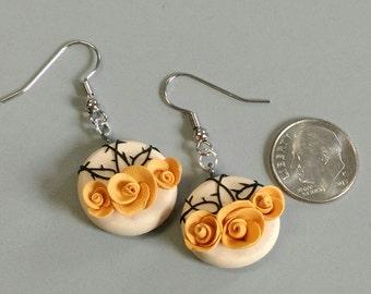 Rose Thorn Earrings