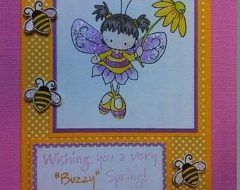 a buzzy spring....