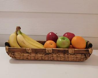 Long Wood basket