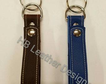 Leather Key Loop fob